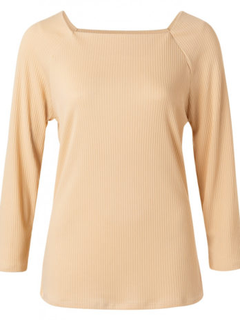 TOP CANALE BEIGE